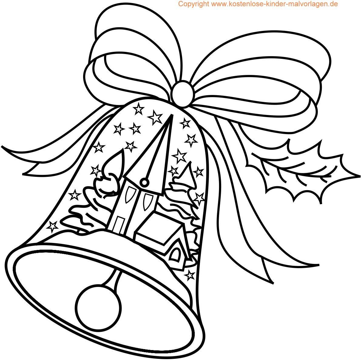 Weihnachten Malvorlagen | Malvorlagen Weihnachten mit Weihnachtsbilder Zum Ausdrucken Gratis