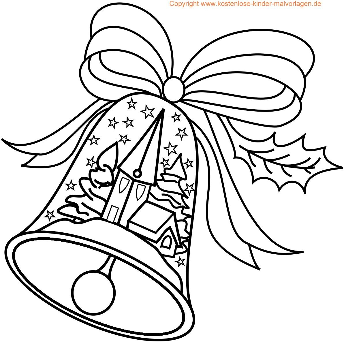 Weihnachten Malvorlagen (Mit Bildern) | Malvorlagen für Weihnachtsausmalbilder Gratis Ausdrucken