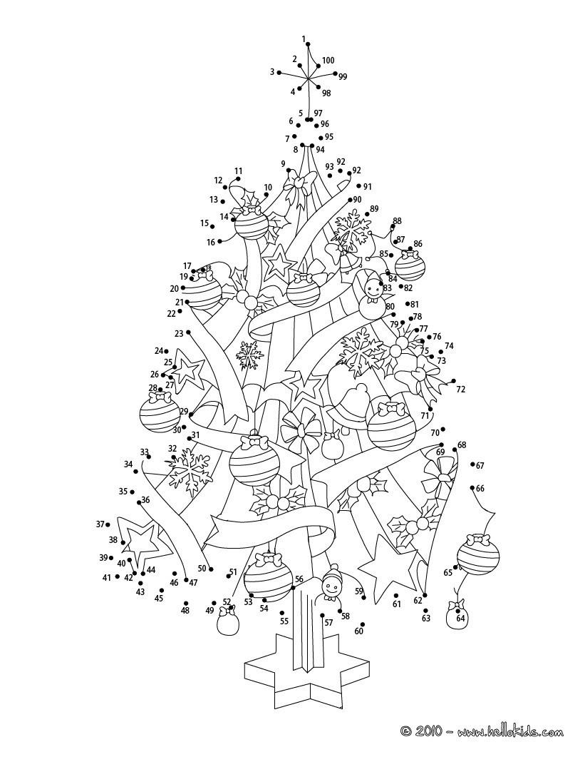 Weihnachten Punkte Verbinden - 24 Weihnachten Punkte bestimmt für Zahlen Verbinden Bis 1000 Zum Ausdrucken