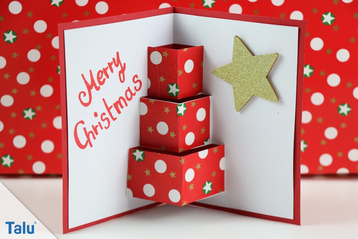 Weihnachtsbasteln - Ideen & Anleitungen - Basteln Für für Weihnachten Basteln Vorlagen Kostenlos