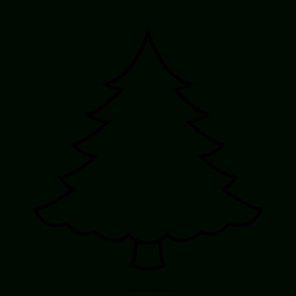 Weihnachtsbaum Ausmalbilder | Vorlagen | Ausmalen mit Tannenbaum Zum Ausmalen