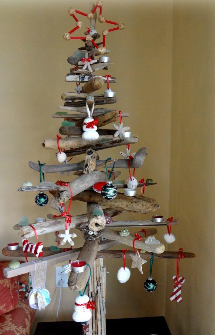Weihnachtsbaum Selber Basteln – 25 Schöne Ideen verwandt mit Basteln Zu Weihnachten Kostenlos