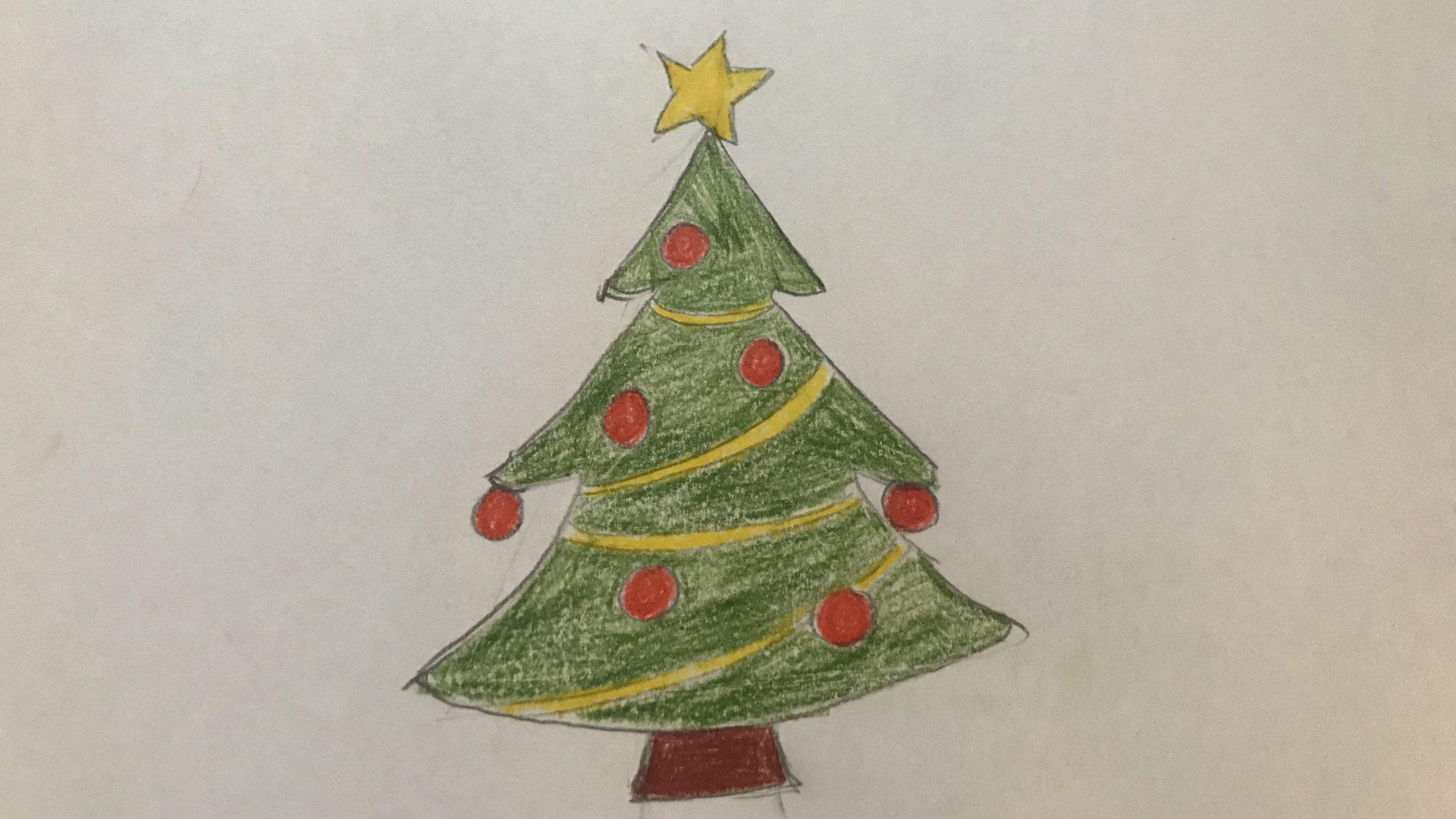 Weihnachtsbaum Zeichnen: Tricks Und Vorlagen | Focus.de verwandt mit Zeichnen Bilder Vorlagen