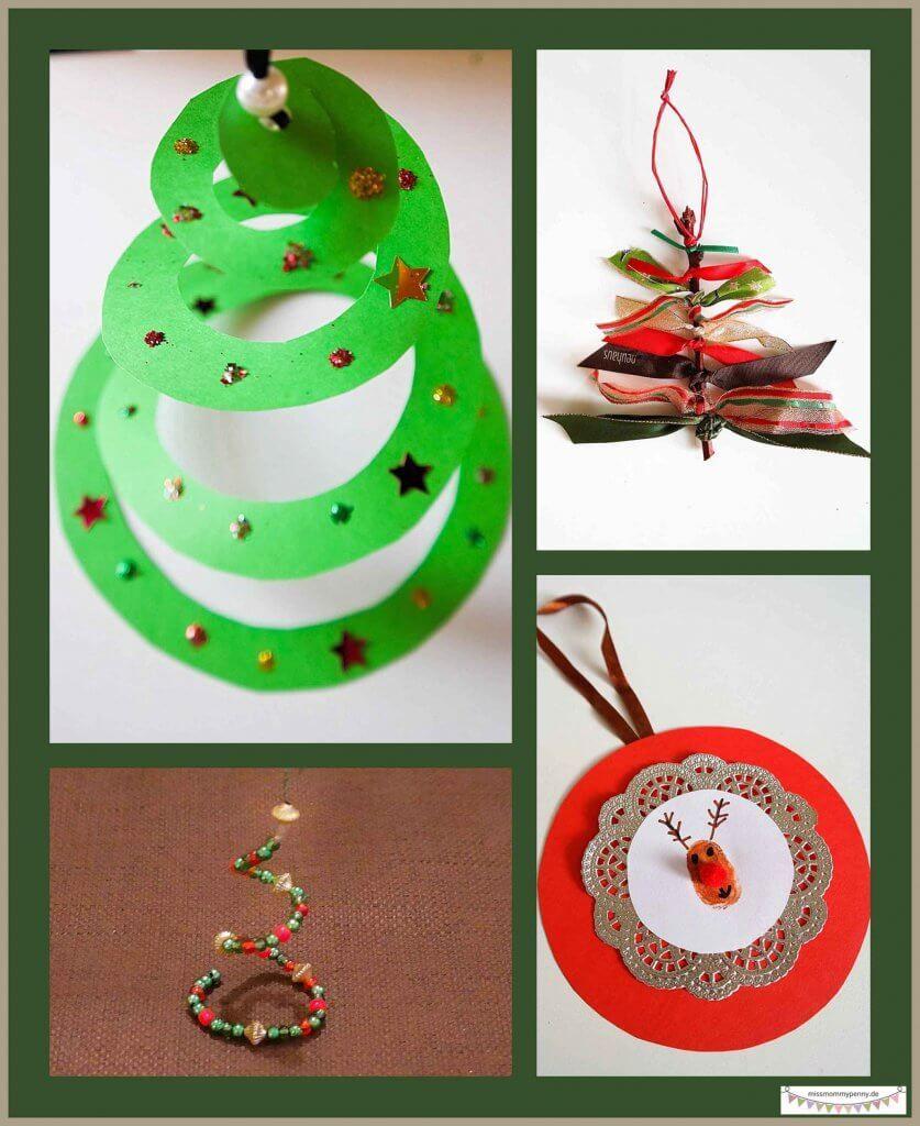 Weihnachtsbaumschmuck Selber Machen | Weihnachtsbaumschmuck ganzes Christbaumschmuck Selber Machen Kinder