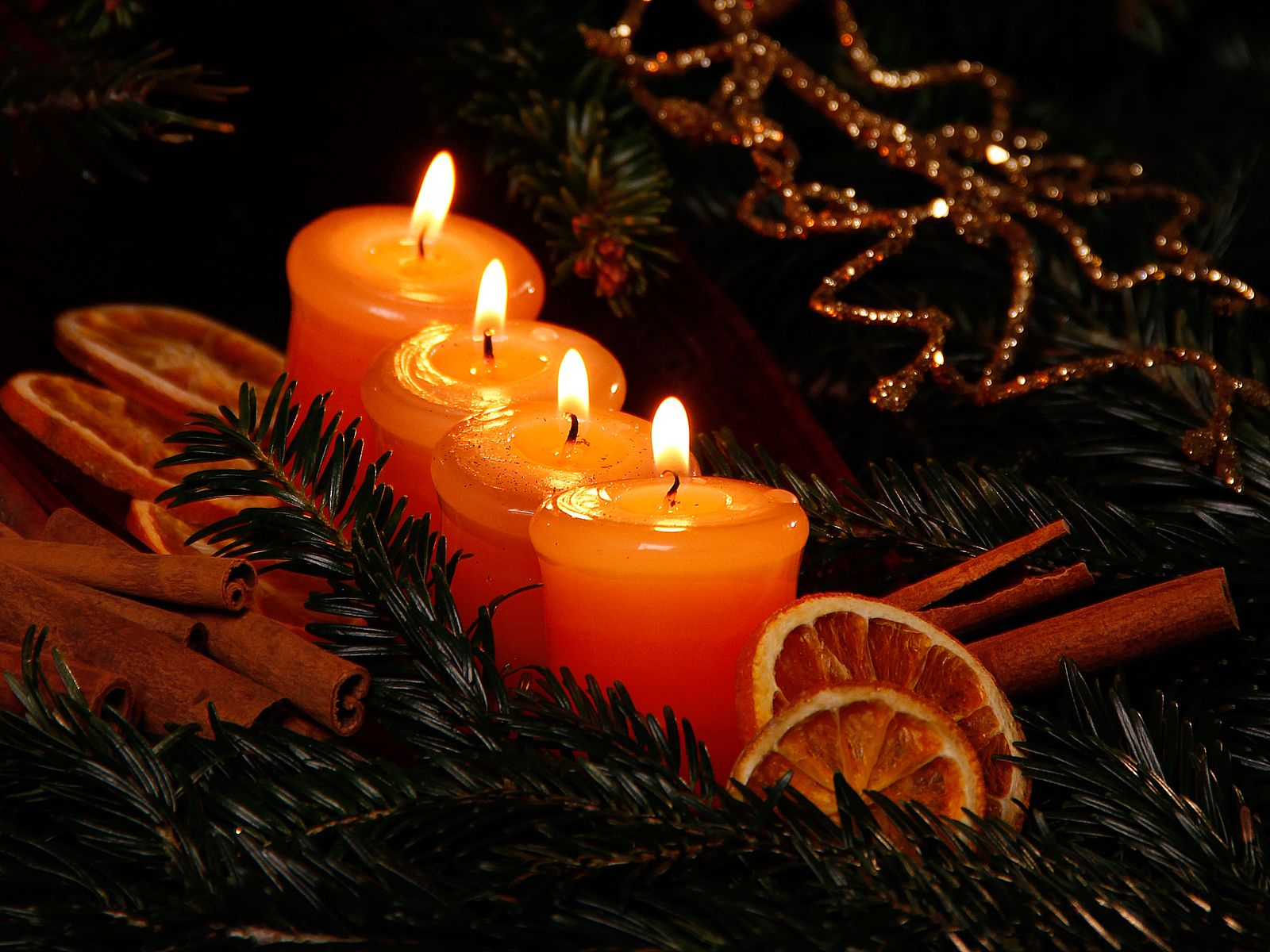 Weihnachtsbilder Kostenlos Runterladen   Kerzen - Schöne innen Kostenlos Weihnachtsbilder Runterladen
