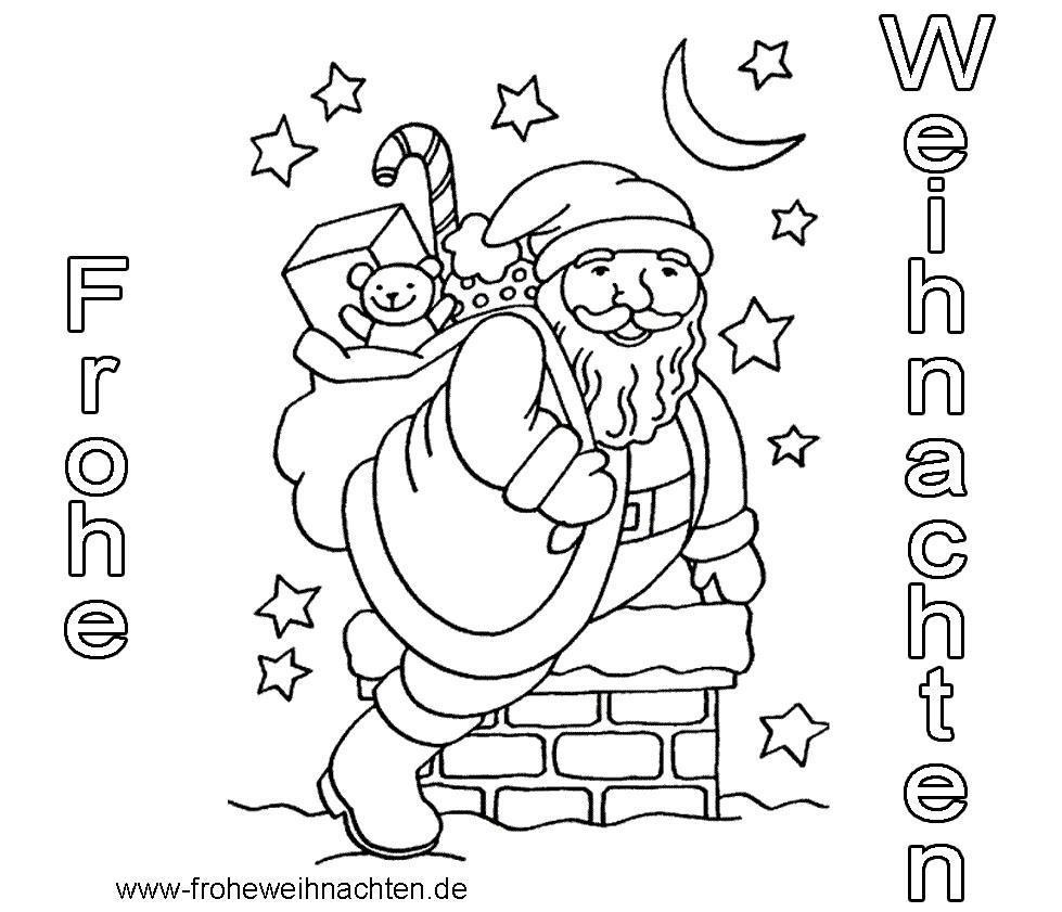 Weihnachtsbilder Zum Ausmalen Und Ausdrucken bei Kostenlose Weihnachtsbilder Zum Ausdrucken