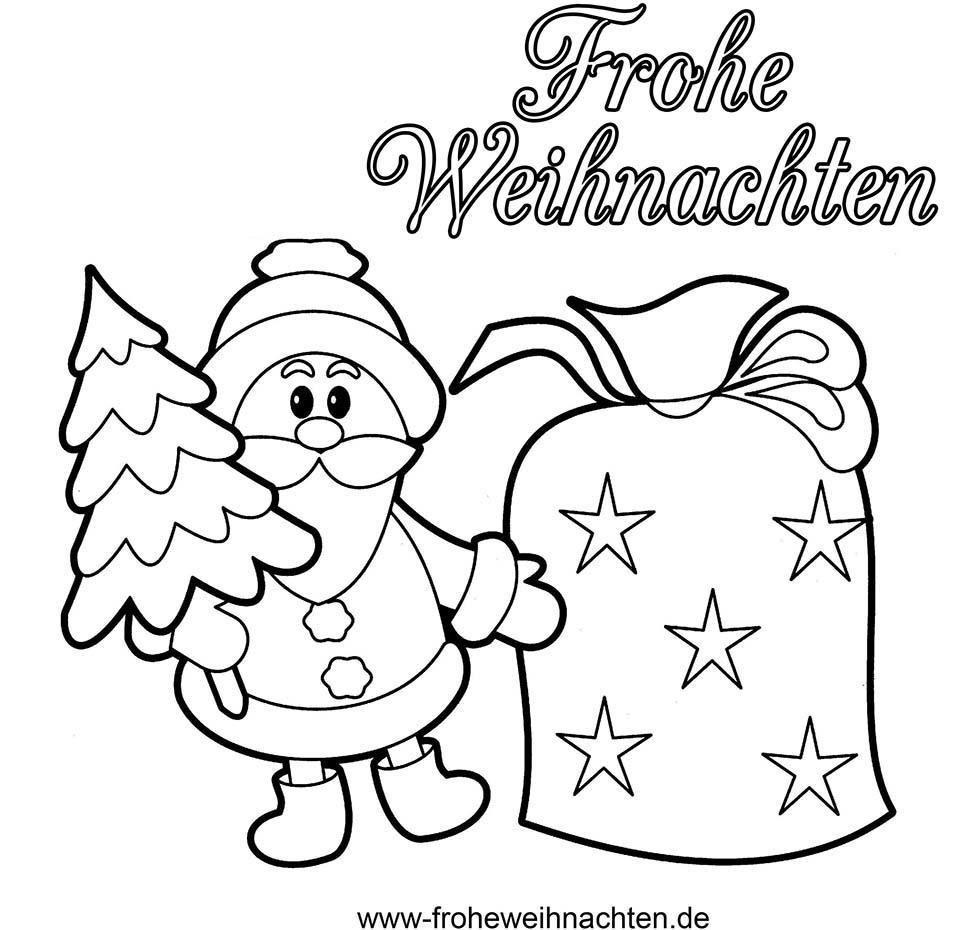 Weihnachtsbilder Zum Ausmalen Und Ausdrucken bestimmt für Weihnachtsbilder Zum Ausdrucken Gratis