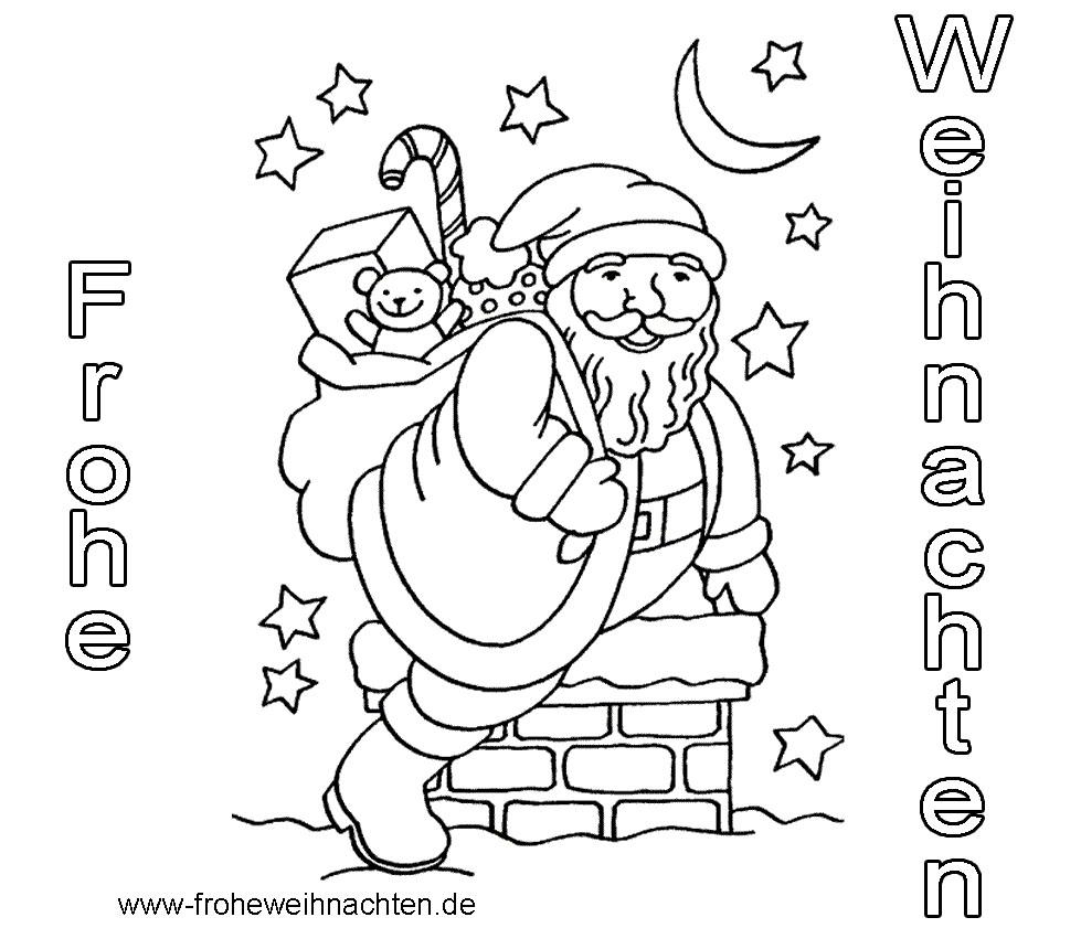 Weihnachtsbilder Zum Ausmalen Und Ausdrucken mit Bilder Zum Ausmalen Gratis