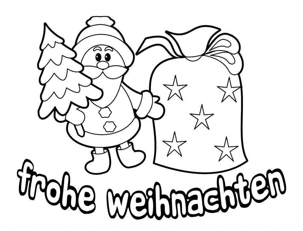 weihnachtsbilder zum ausmalen und drucken  kinderbilder
