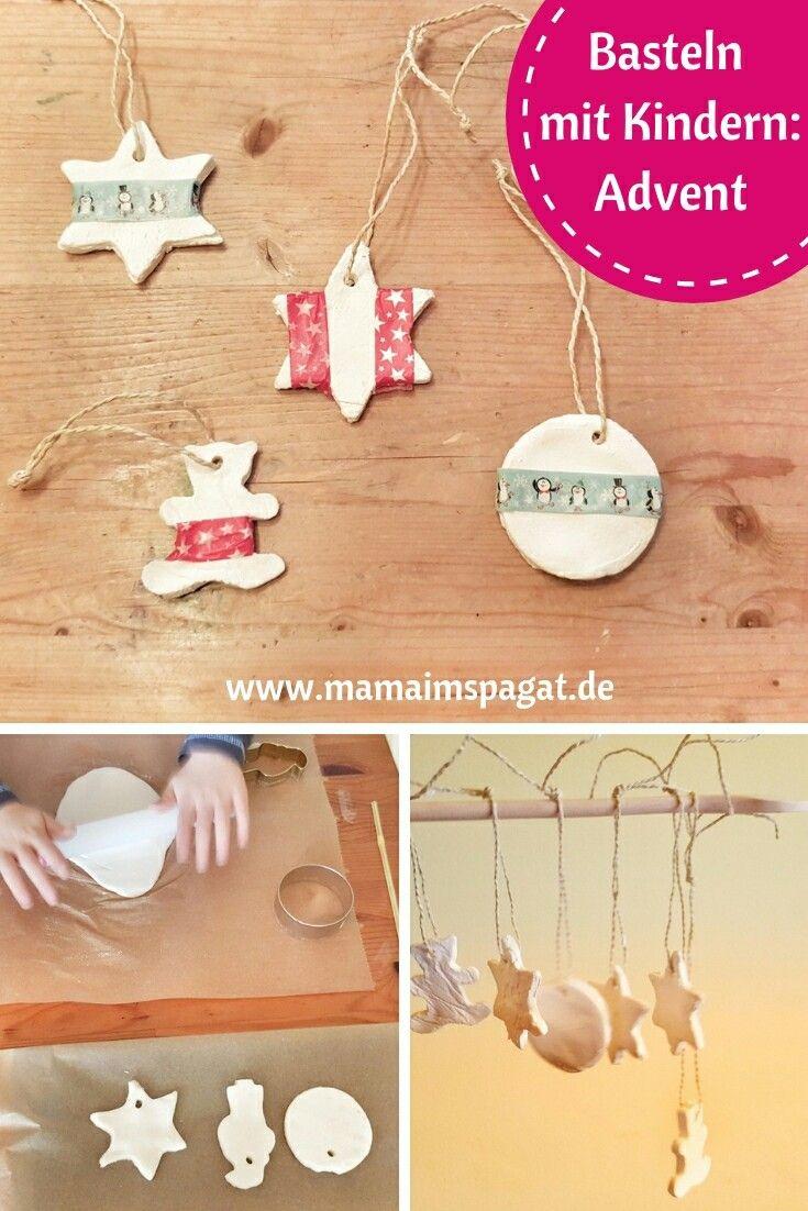 Weihnachtsdeko Mit Kindern Basteln: Christbaumschmuck Aus innen Christbaumschmuck Basteln Mit Kindern