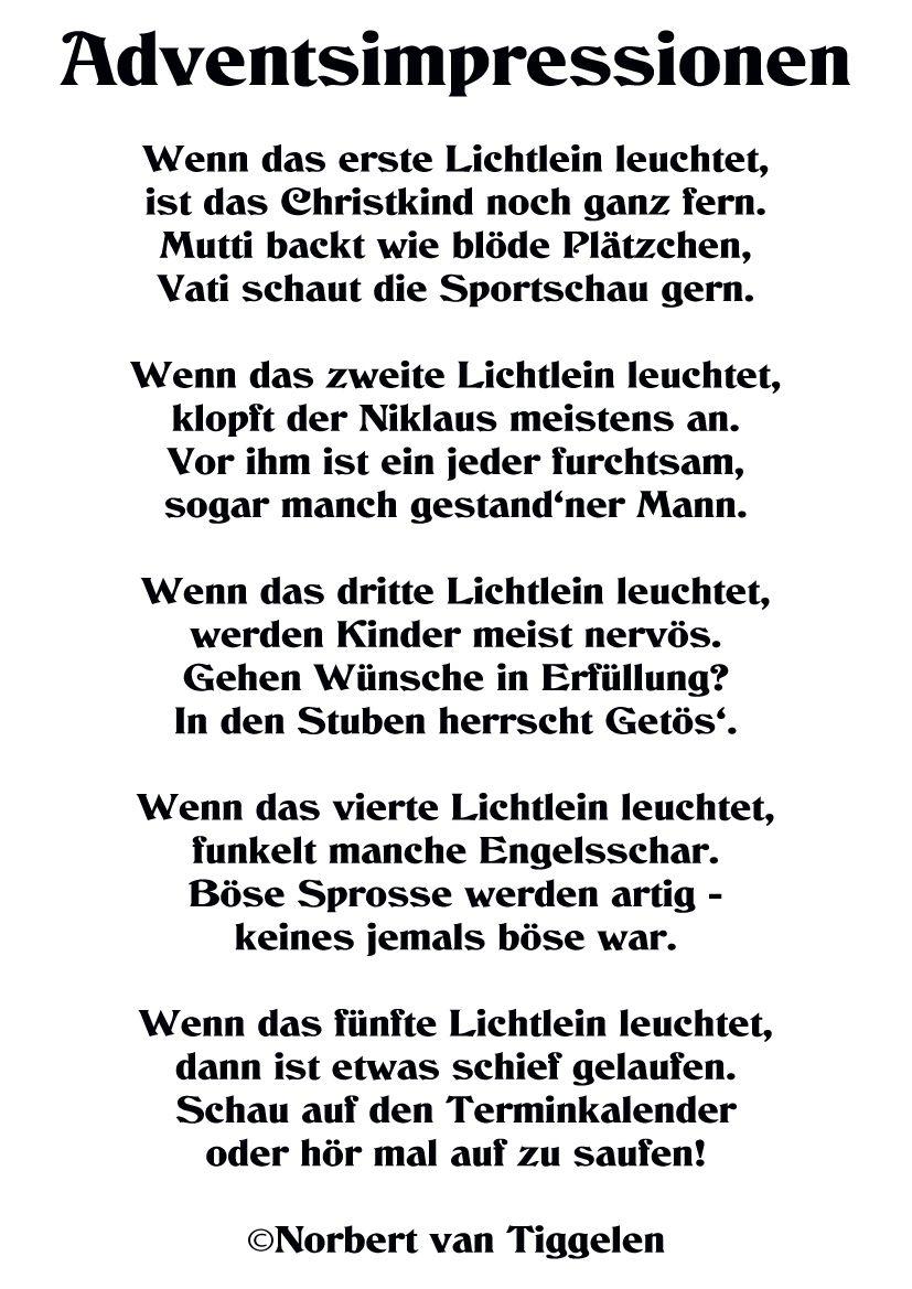 Weihnachtsgedichte-Bild Von Karin Gutbrod Auf innen Lustige Gedichte Zur Weihnachtsfeier
