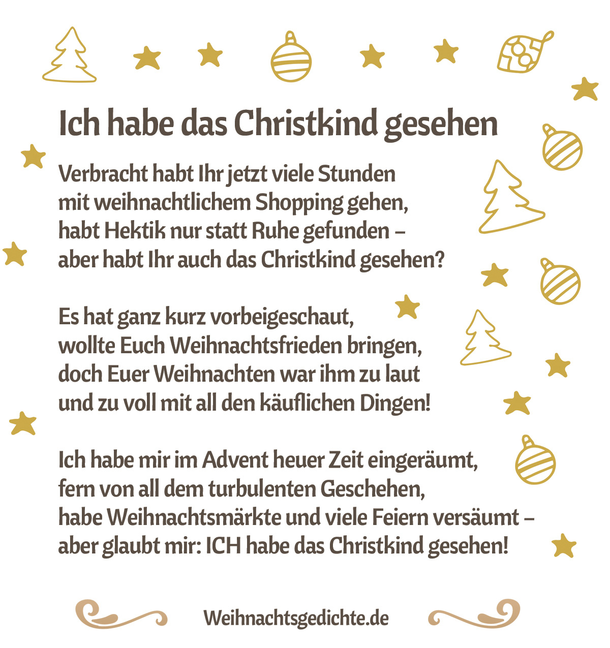 Weihnachtsgedichte Bilder Zum Versenden Als E-Mail Oder Facebook ganzes Lustige Und Kurze Weihnachtsgedichte