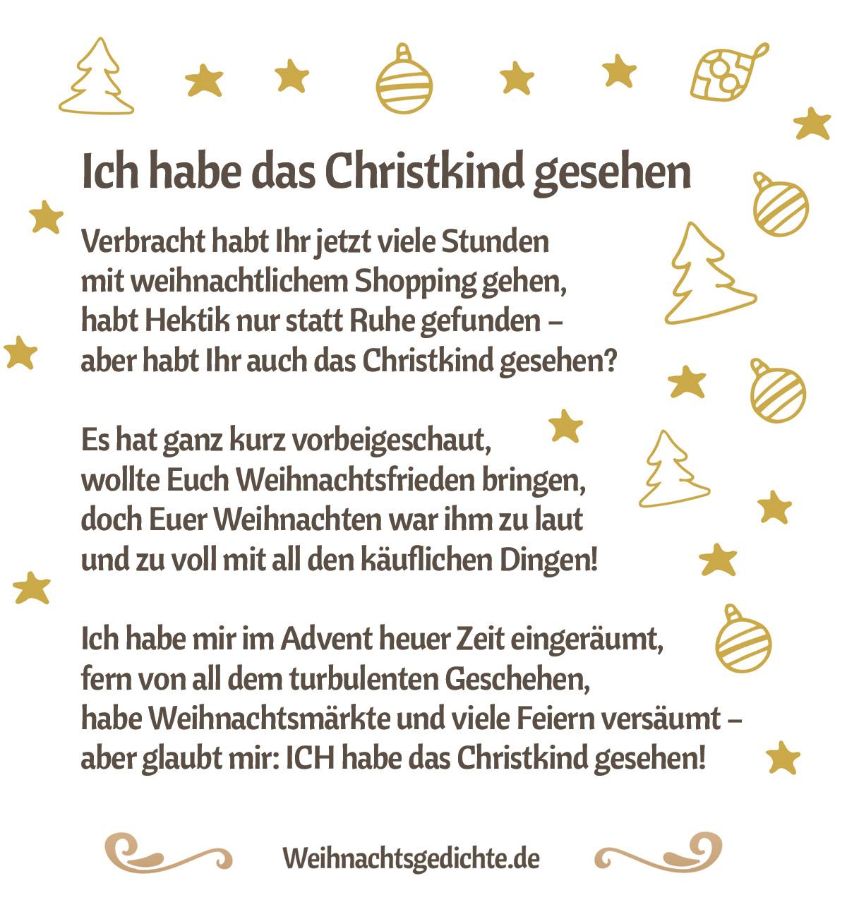 Weihnachtsgedichte Bilder Zum Versenden Als E-Mail Oder Facebook in Kurze Lustige Gedichte Zu Weihnachten