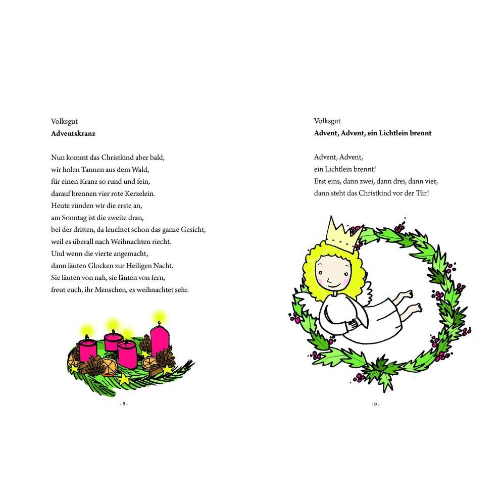 Weihnachtsgesichte | Weihnachtsgedichte verwandt mit Einfache Weihnachtsgedichte Für Kindergartenkinder