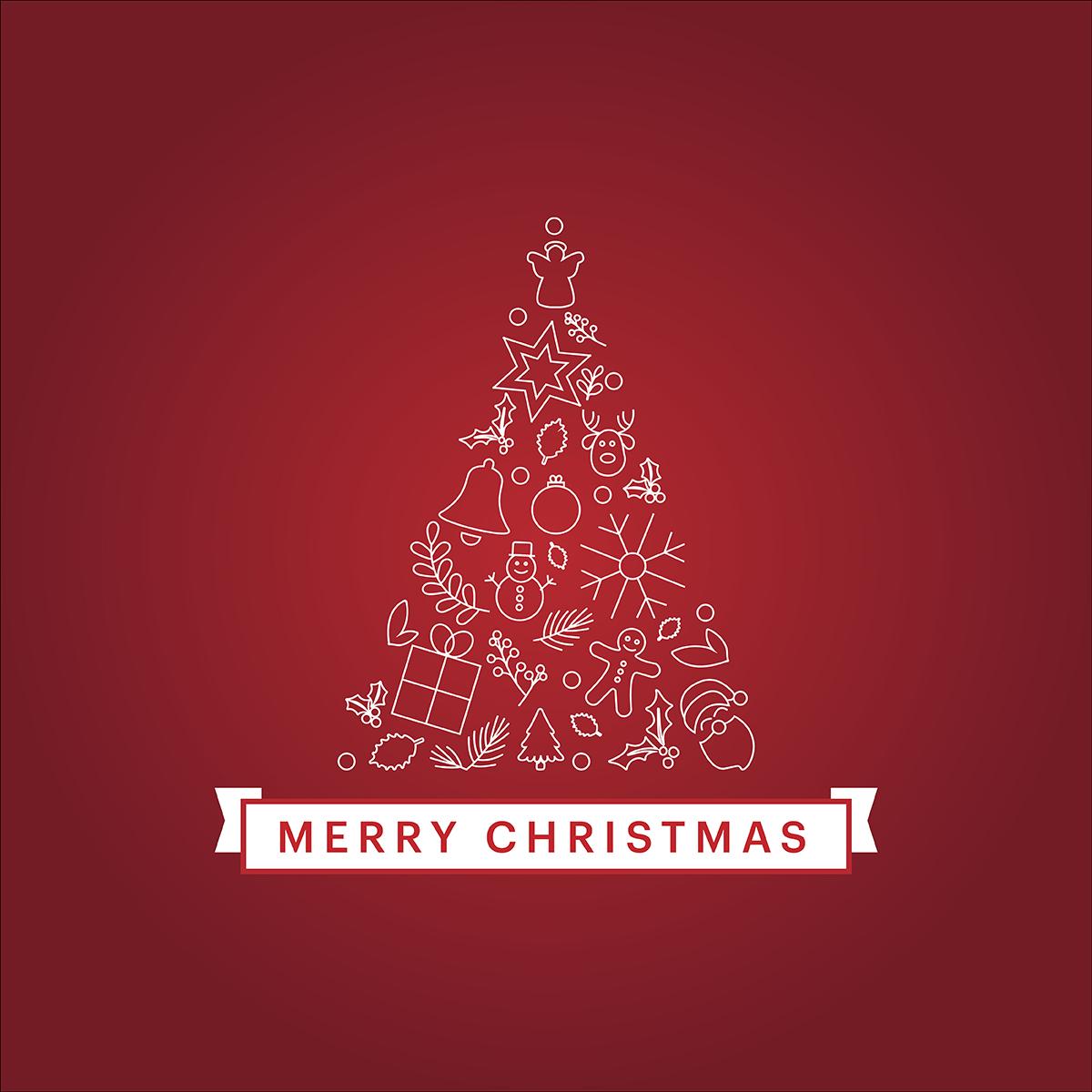 Weihnachtsgrüße An Deine Kunden - Kostenlose Vorlage mit Kostenlose Weihnachtsmails