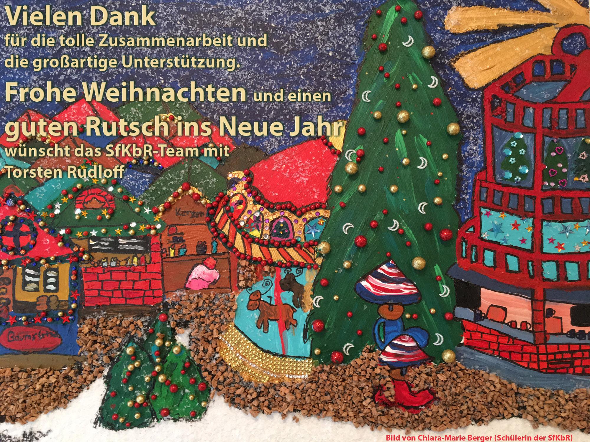 Weihnachtsgrüße Der Sfkbr | Sfkbr mit Weihnachtswünsche Für Kindergartenkinder