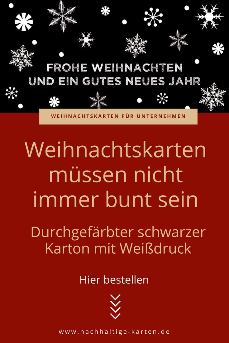 Weihnachtskarte Schwarz Mit Vielen Schneeflocken für Weihnachtskarte Drucken