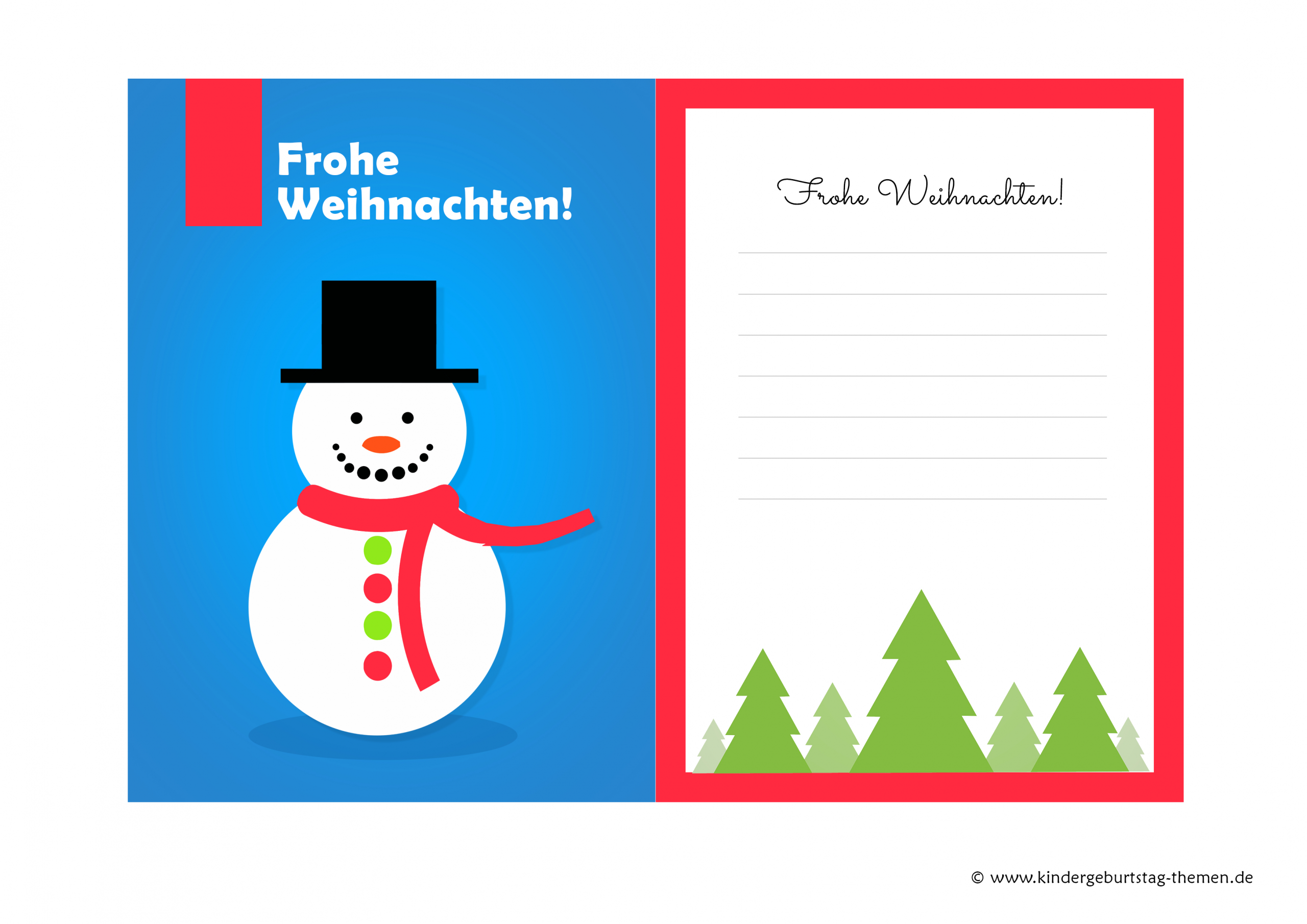 Weihnachtskarten Basteln Mit Kindern: Kostenlose Vorlagen bestimmt für Weihnachtskarten Zum Ausdrucken