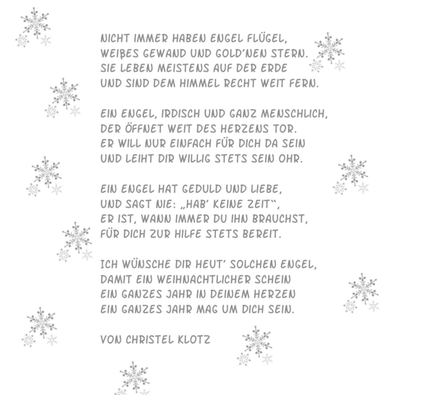 Weihnachtskarten Engel (Mit Bildern) | Gedicht Weihnachten bestimmt für Kurze Besinnliche Weihnachtsgeschichte