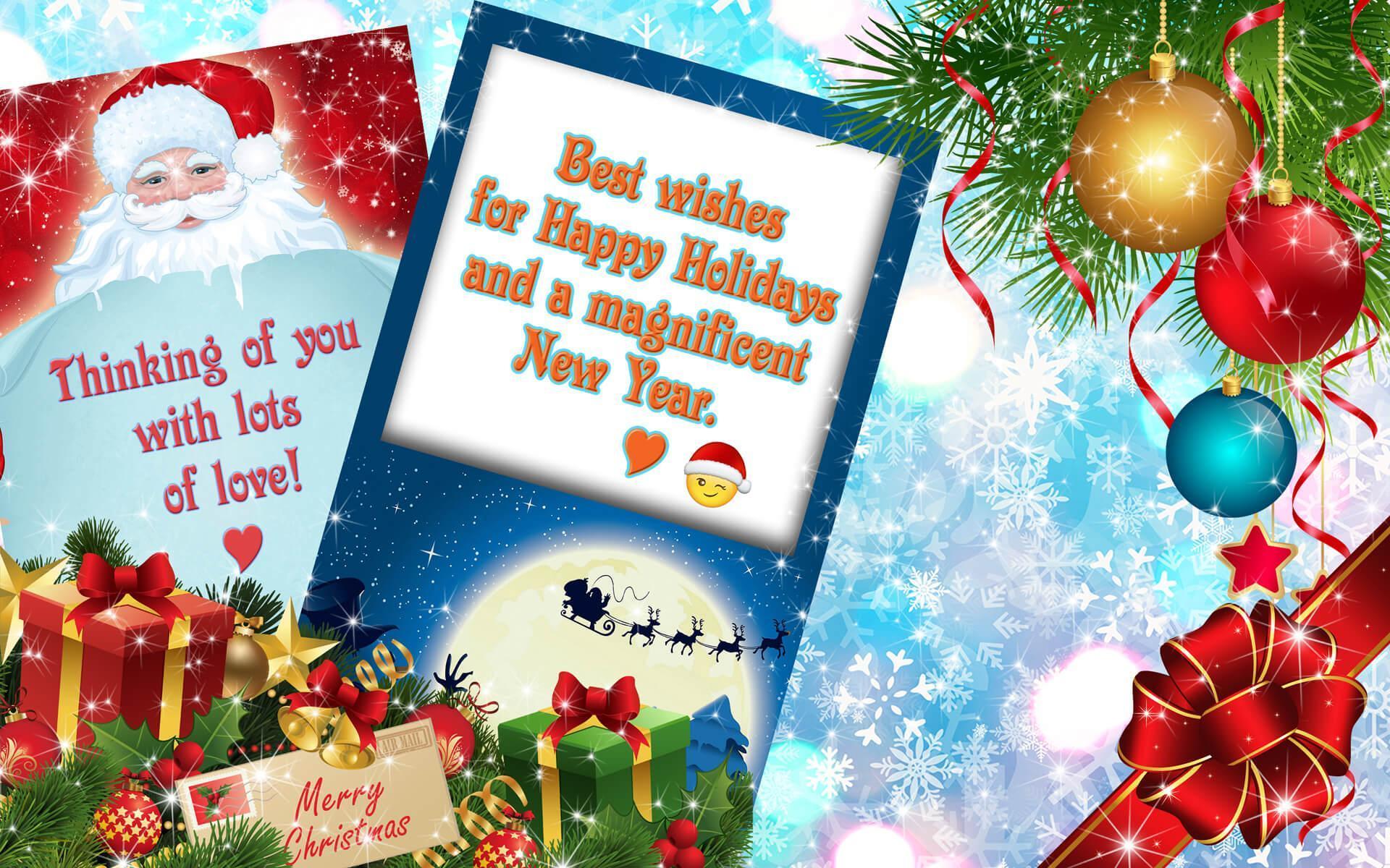 Weihnachtskarten 🎄 Neujahrsgrüße Kostenlos Für Android innen Neujahrsgrußkarten Kostenlos