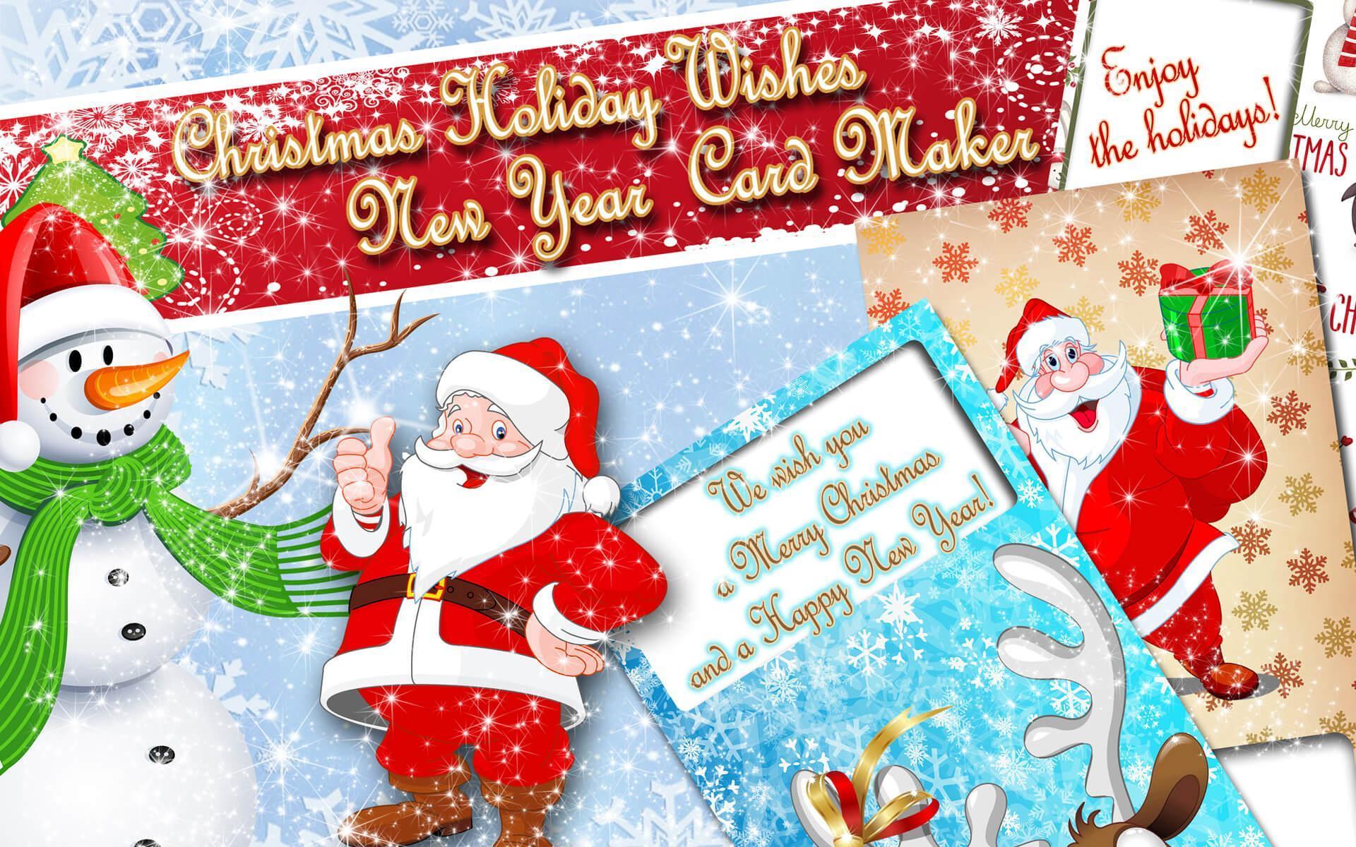 Weihnachtskarten 🎄 Neujahrsgrüße Kostenlos Für Android über Neujahrsgrußkarten Kostenlos