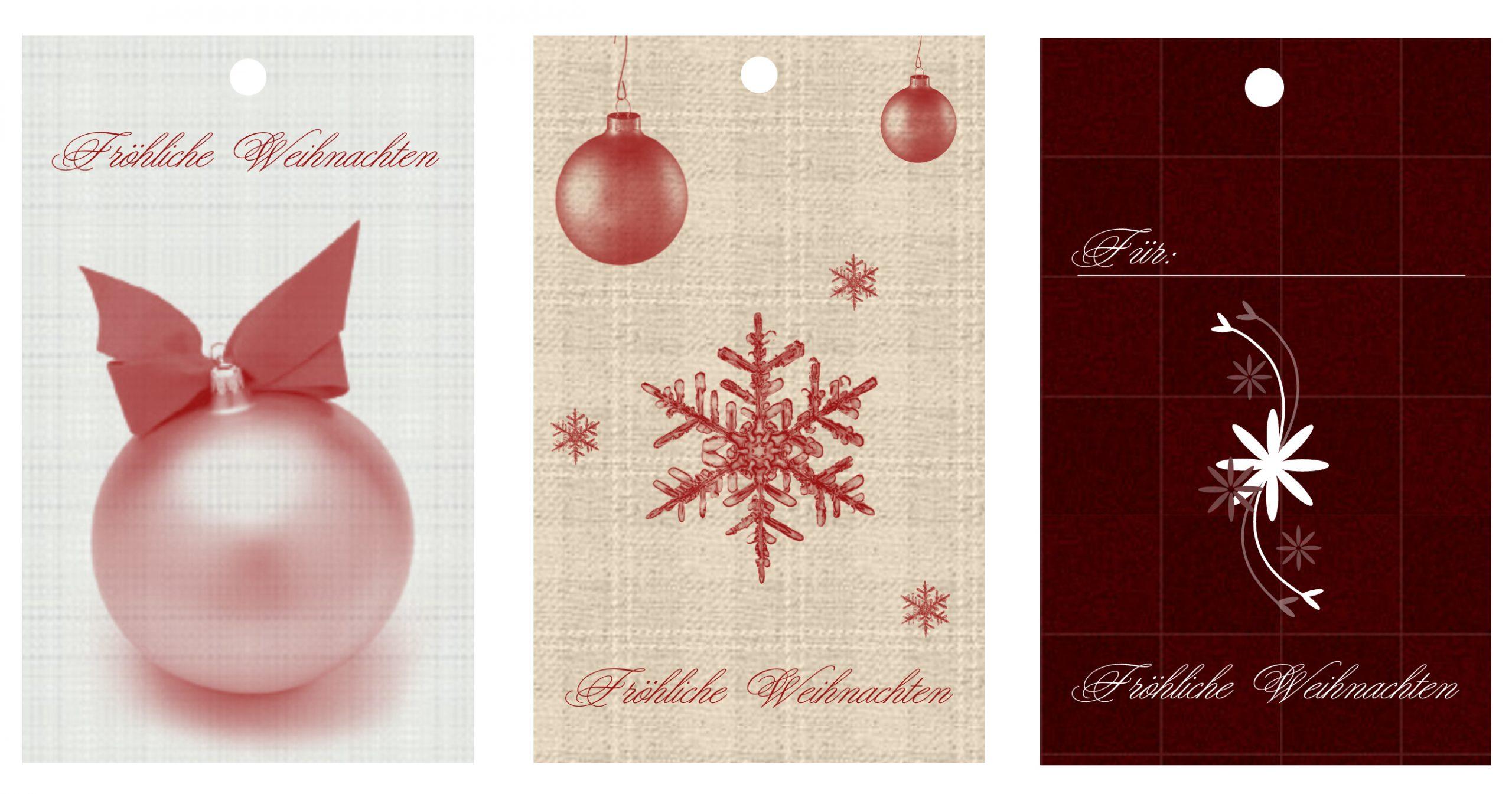 Weihnachtskarten Zum Ausdrucken & Ausschneiden | Schmuck innen Weihnachtskarten Zum Ausdrucken