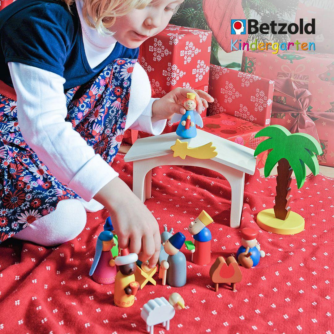 Weihnachtskrippe Aus Holz   Weihnachtskrippe Kinder ganzes Weihnachtsgeschichte Für Kindergartenkinder Zum Nachspielen