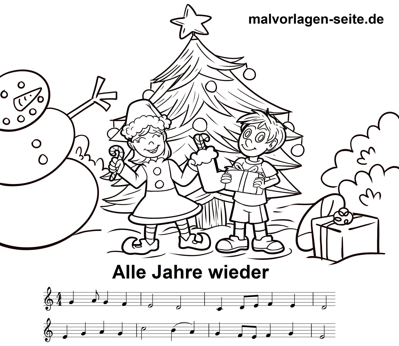 Weihnachtslieder Noten Und Texte Kostenlos Ausdrucken in Texte Weihnachtslieder Deutsch Kostenlos