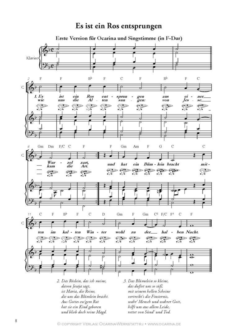 Weihnachtsliedertexte