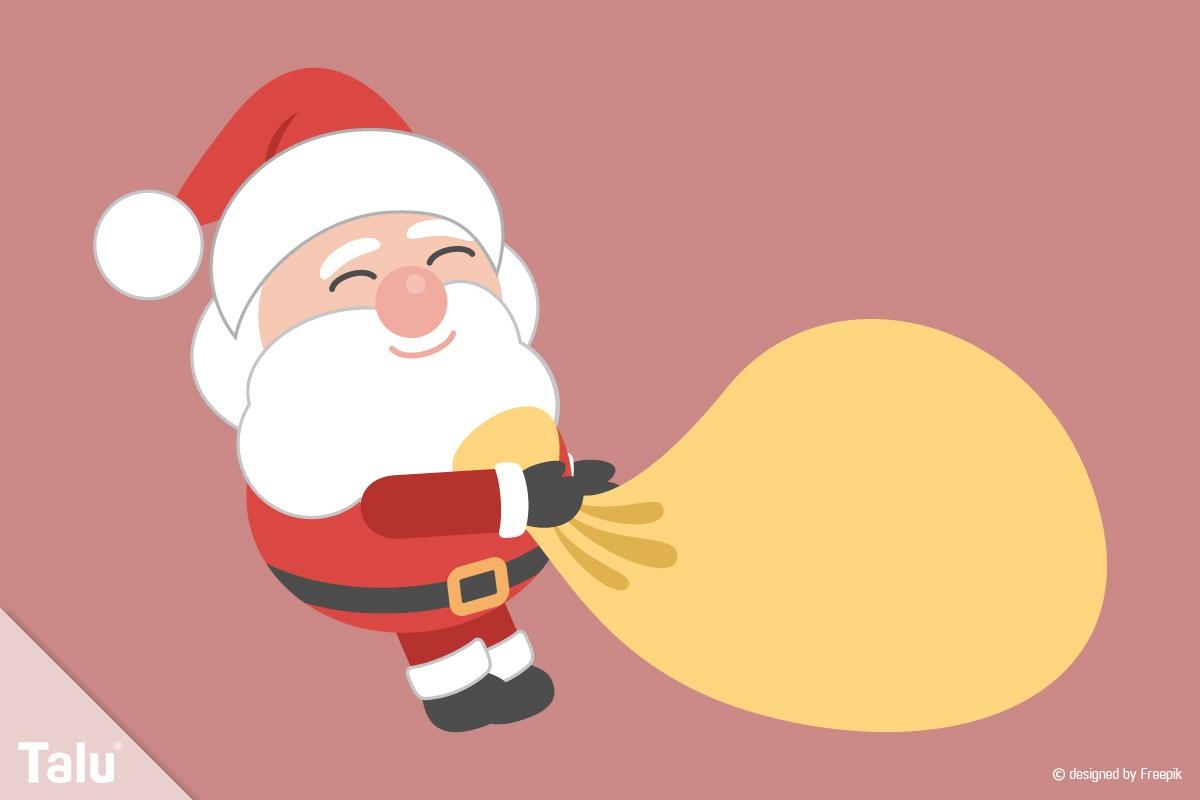 Weihnachtsmann Basteln - Anleitung Und Vorlagen - Talu.de für Weihnachtsmann Bastelvorlage