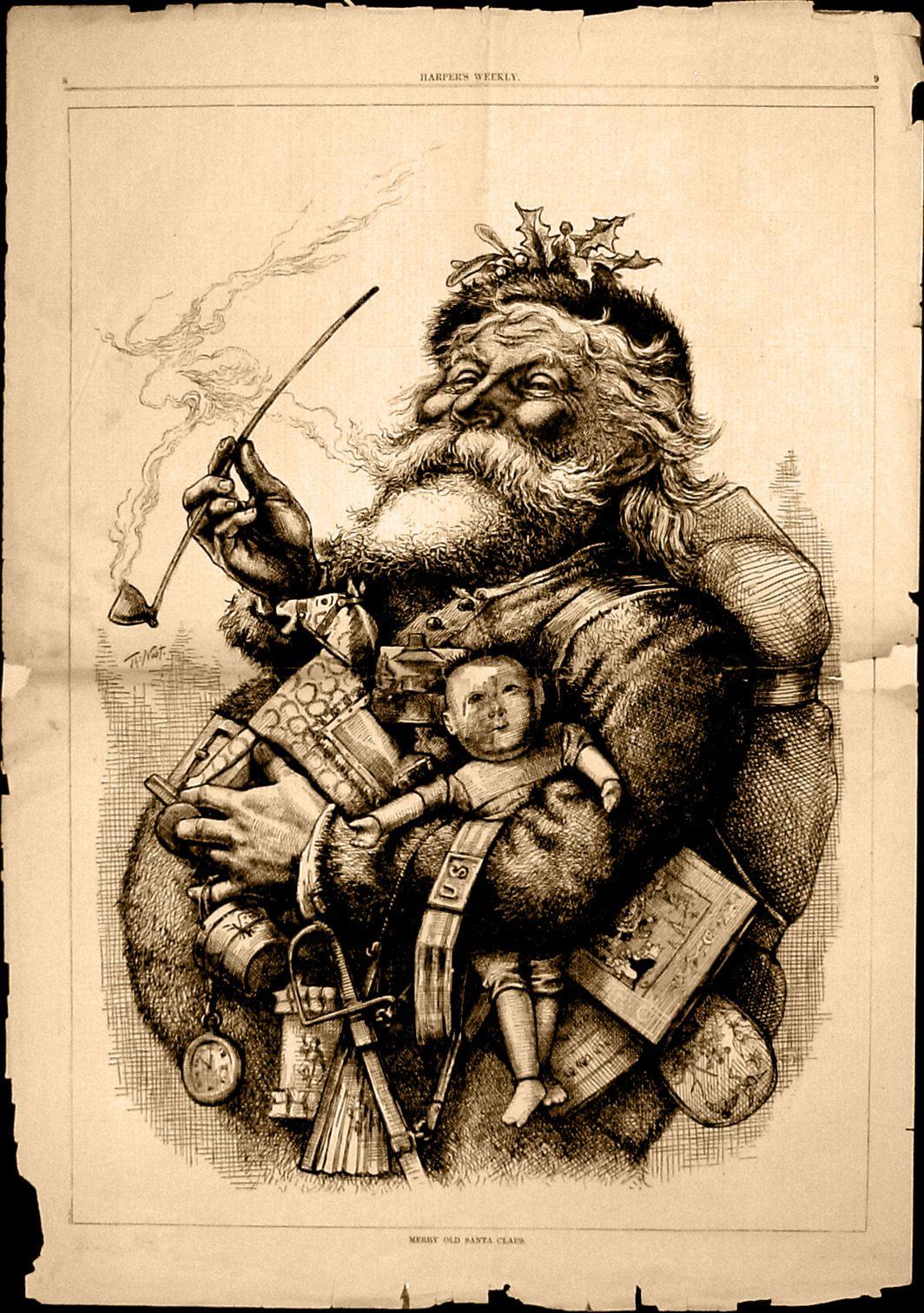Weihnachtsmann: Wirklich Eine Erfindung Von Coca Cola? - Der ganzes Ursprüngliche Farbe Gewand Weihnachtsmann
