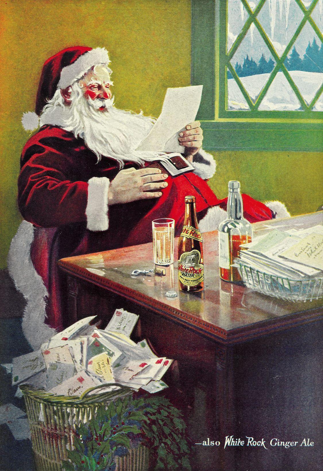 Weihnachtsmann: Wirklich Eine Erfindung Von Coca Cola? - Der in Ursprüngliche Farbe Gewand Weihnachtsmann
