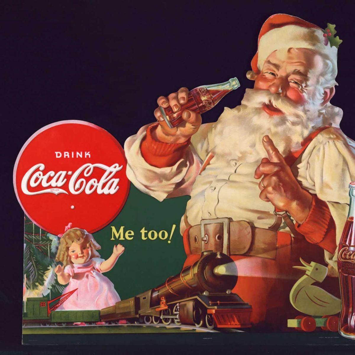 Weihnachtsmann: Wirklich Eine Erfindung Von Coca Cola? - Der in Welche Farbe Hatte Das Gewand Des Weihnachtsmanns Ursprünglich