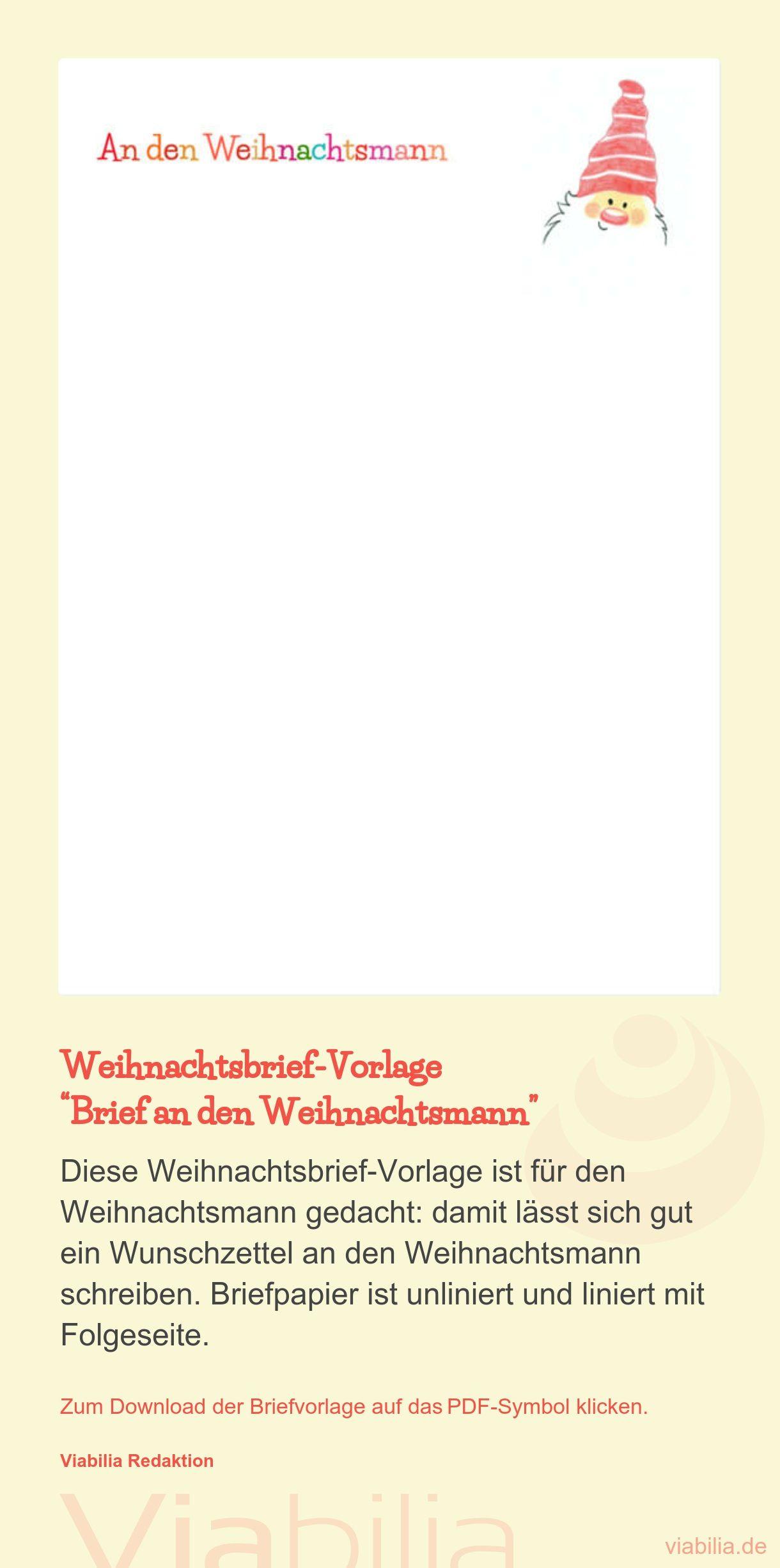 Weihnachtspapier Zum Ausdrucken Als Pdf: Eine Briefvorlage über Weihnachtsbriefpapier Zum Ausdrucken