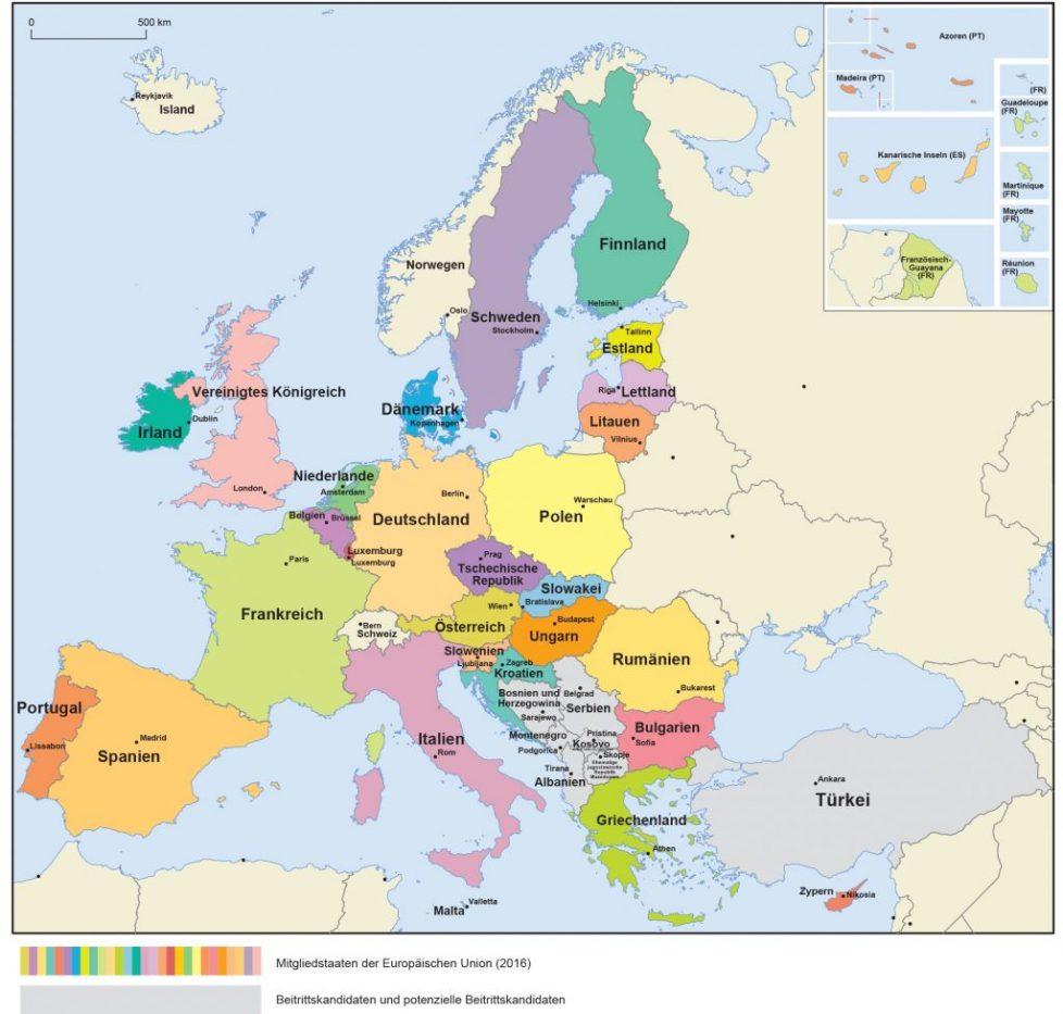 Welche Länder Sind Mitglied Der Eu - Und Was Machen Sie In ganzes Welche Länder Grenzen An Deutschland