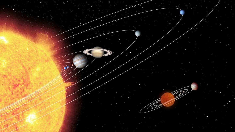 Welt Der Physik: Die Planeten Des Sonnensystems mit Wie Viele Planeten Gibt Es In Unserem Sonnensystem