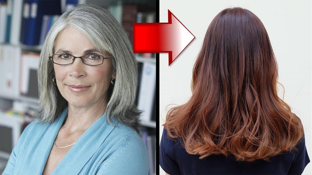 Wie Du Graue Haare Auf Natürliche Weise Abdeckst! mit Haare Färben Wie Das Grau Verschwindet