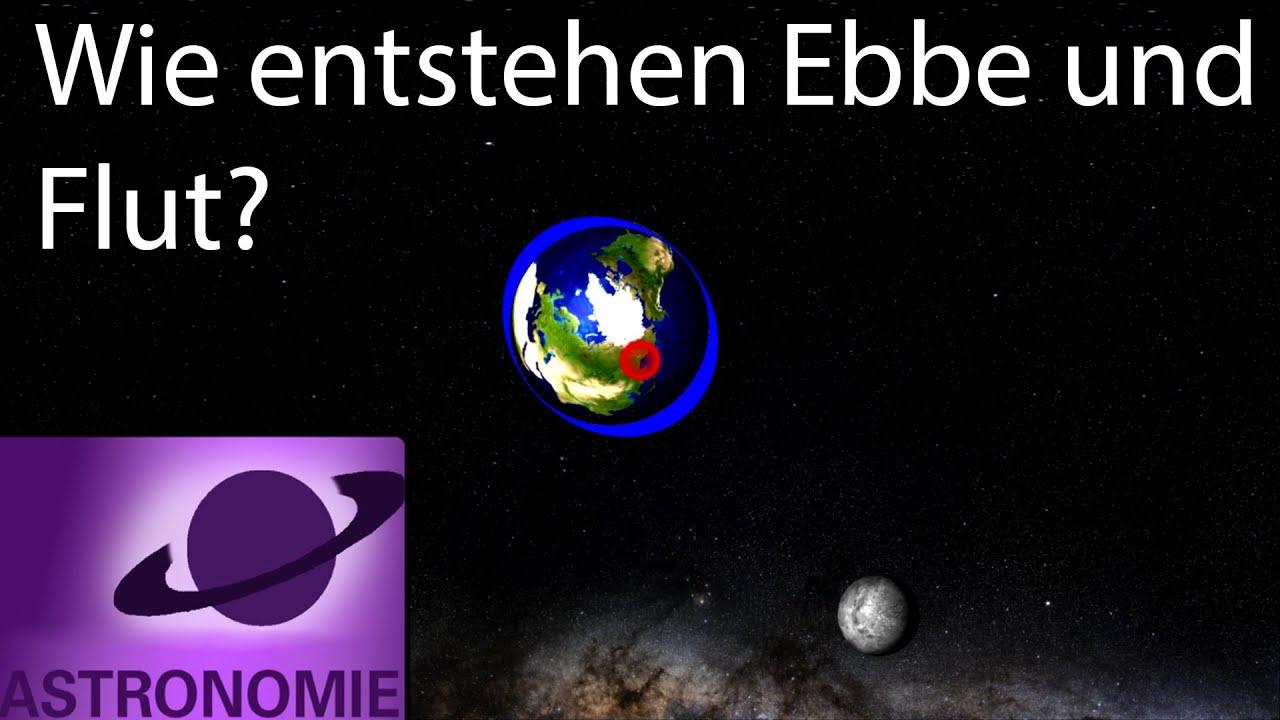 Wie Entstehen Ebbe Und Flut? für Was Hat Der Mond Mit Ebbe Und Flut Zu Tun