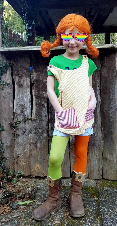 Wie Macht Man Ein Pippi Langstrumpf Kostüm Selbst? Eine Diy verwandt mit Pippi Langstrumpf Kostüm Selber Nähen