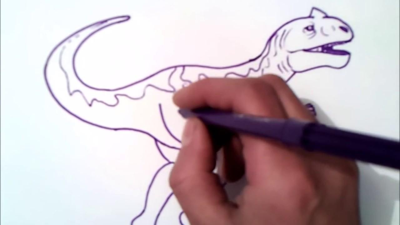 Wie Man Einen Dinosaurier Zeichnen mit Dino Zeichnen