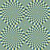 Wie Optische Täuschungen Entstehen bei Optische Täuschung Bild