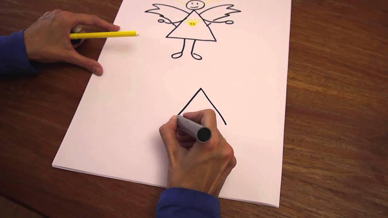 Wie Zeichne Ich Einen Engel-Tutorial Mit Béa Beste mit Engelsgesicht Malen