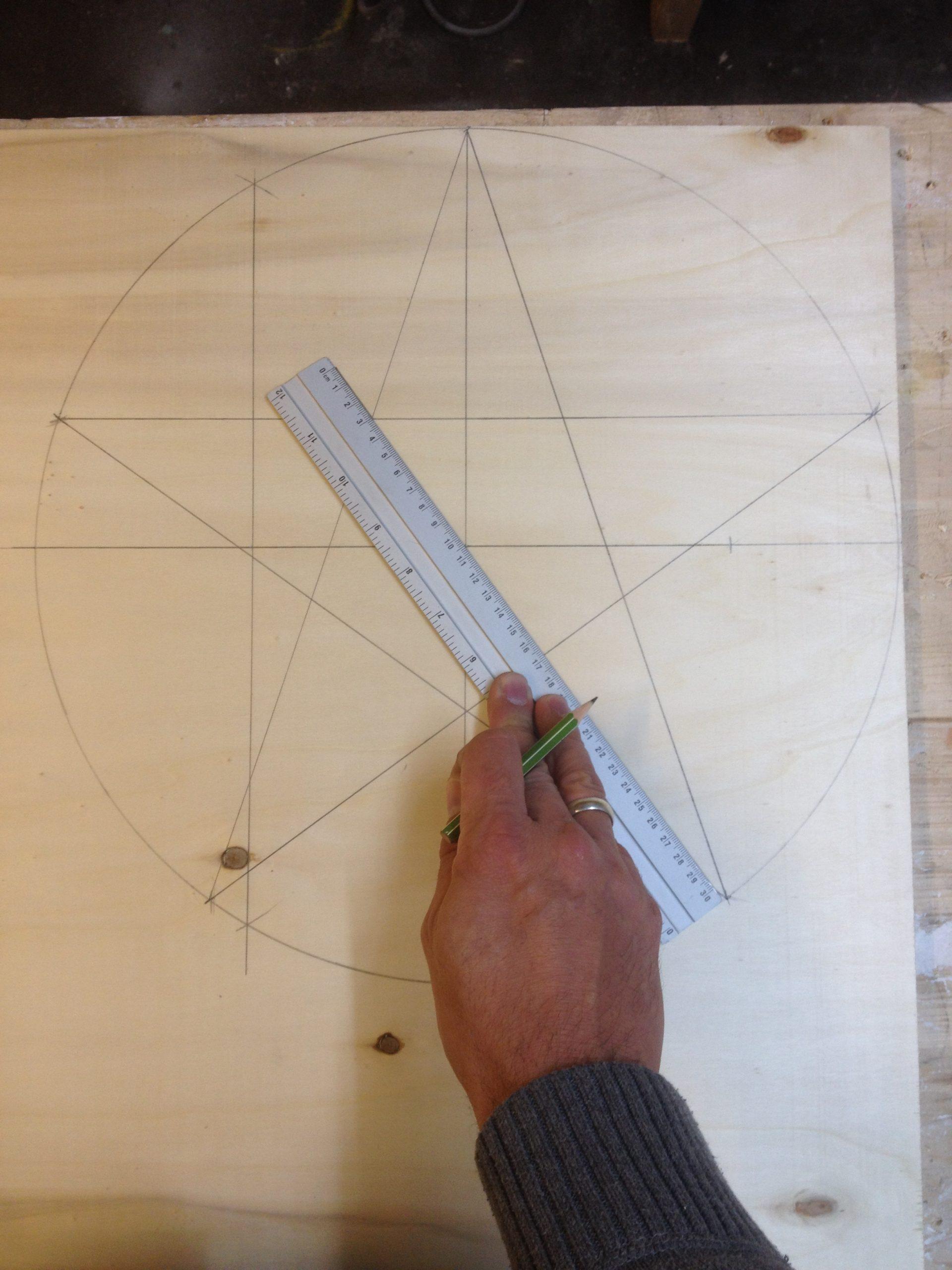 Wie Zeichne Ich Einen Schönen Weihnachtsstern - Der Kellerwerker in Wie Zeichnet Man Einen Stern Mit 5 Spitzen