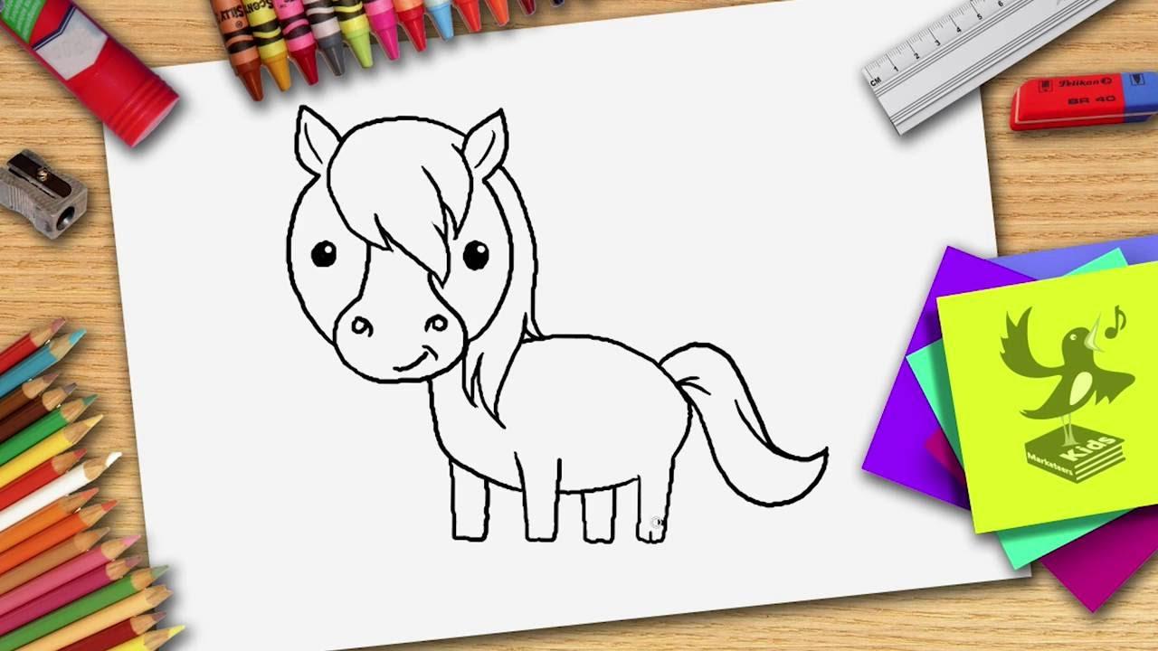 Wie Zeichnet Man Ein Pferd - Pferd Zeichnen Lernen innen Pferde Zeichnen Lernen Für Anfänger