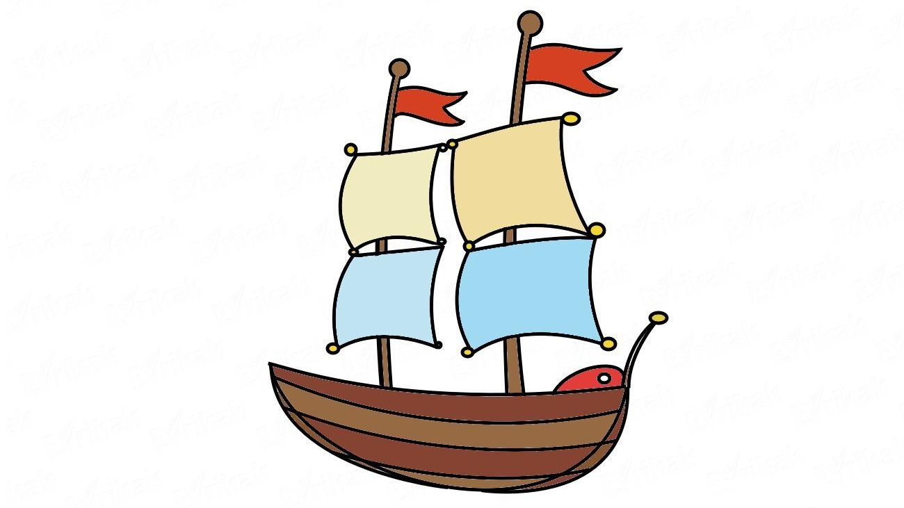 Wie Zeichnet Man Ein Schiff Mit Segeln Schritt Für Schritt mit Wie Zeichnet Man Ein Schiff