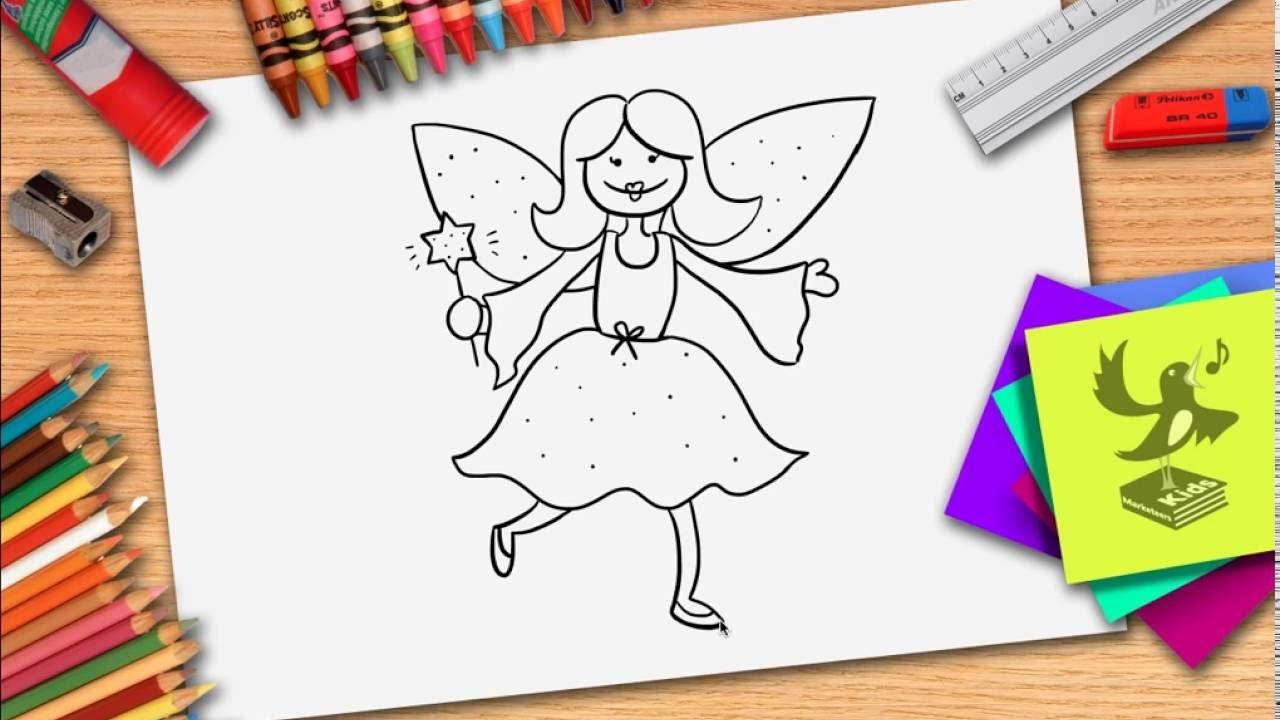 Wie Zeichnet Man Eine Fee - Fee Zeichnen Lernen über Feen Zeichnen