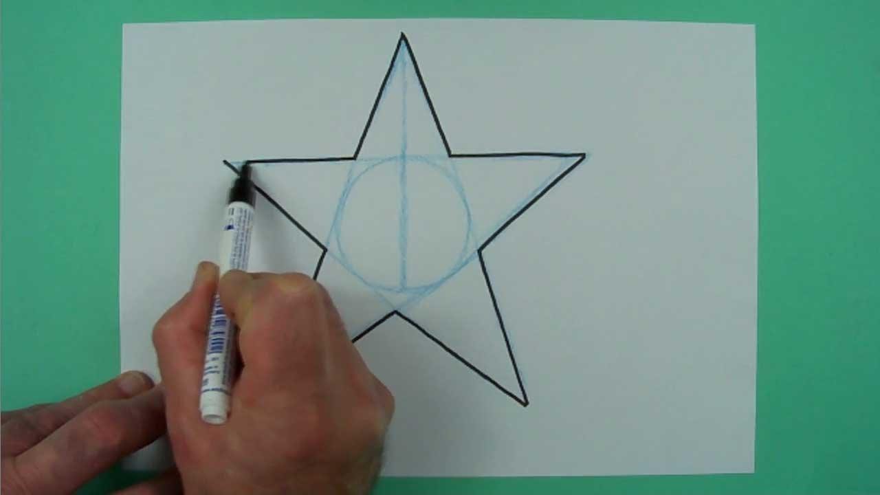 Wie Zeichnet Man Freihändig Einen Stern? Zeichnen Für Kinder verwandt mit Wie Zeichnet Man Einen Stern Mit 5 Spitzen