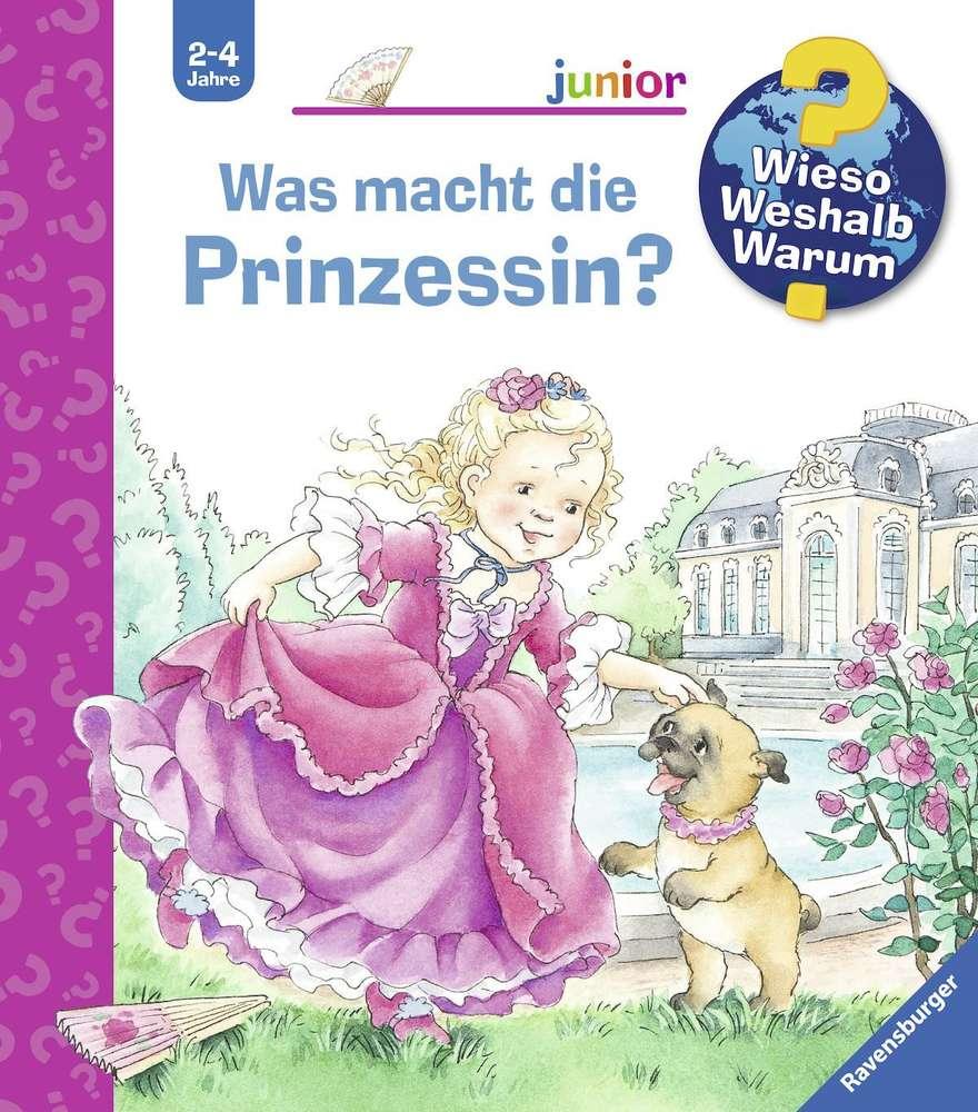 Wieso Weshalb Warum Junior Was Macht Die Prinzessin 2-4 Jahre ganzes Wieso Weshalb Warum Ab 2 Jahren