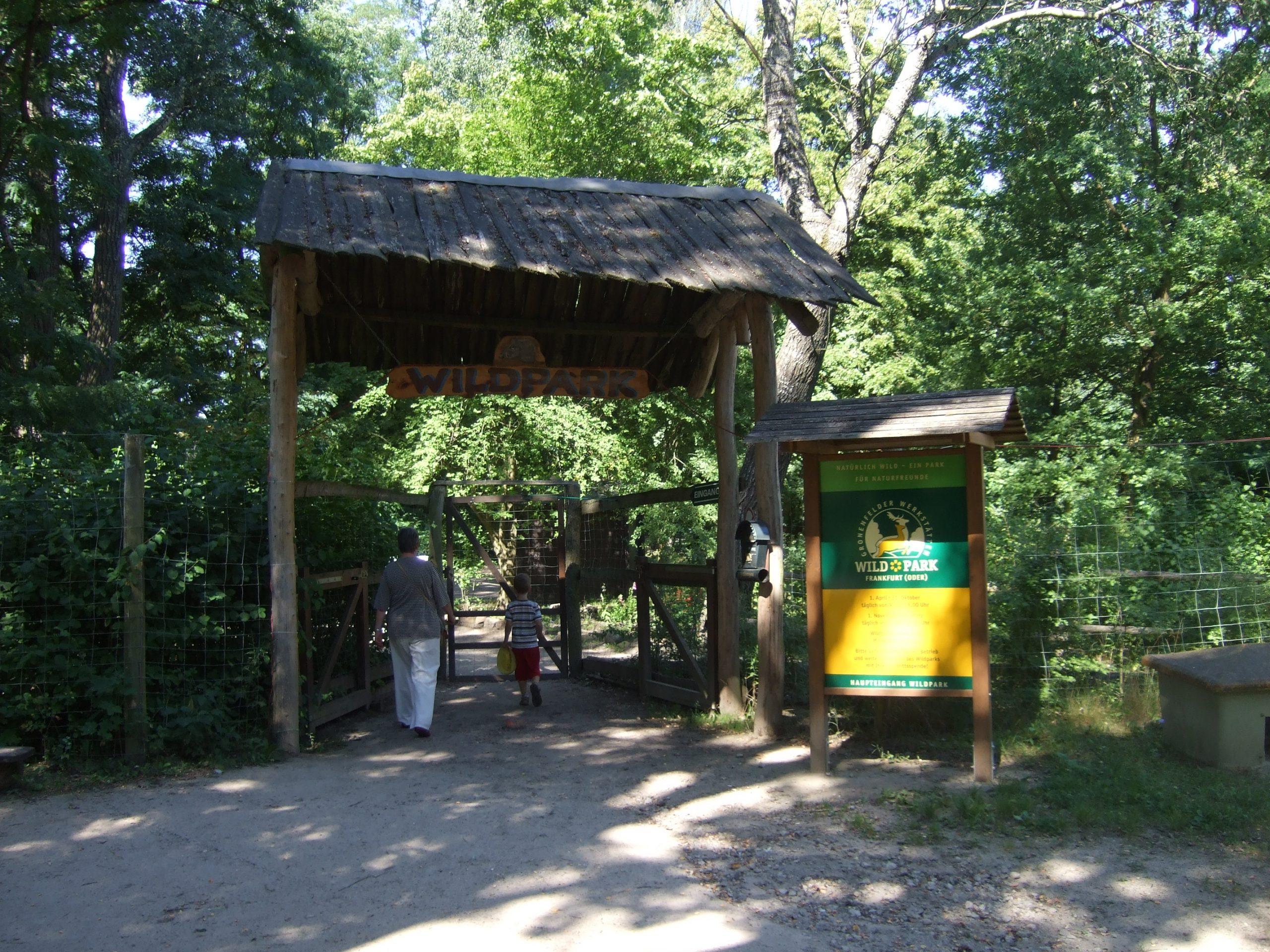 Wildpark Frankfurt (Oder) bestimmt für Wildpark Frankfurt Oder Öffnungszeiten