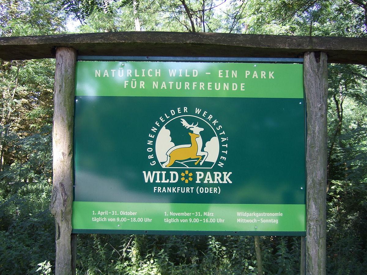Wildpark Frankfurt (Oder) – Wikipedia ganzes Wildpark Frankfurt Oder Öffnungszeiten
